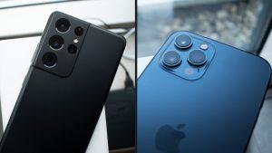 welke kies jij samsung galaxy of apple iphone
